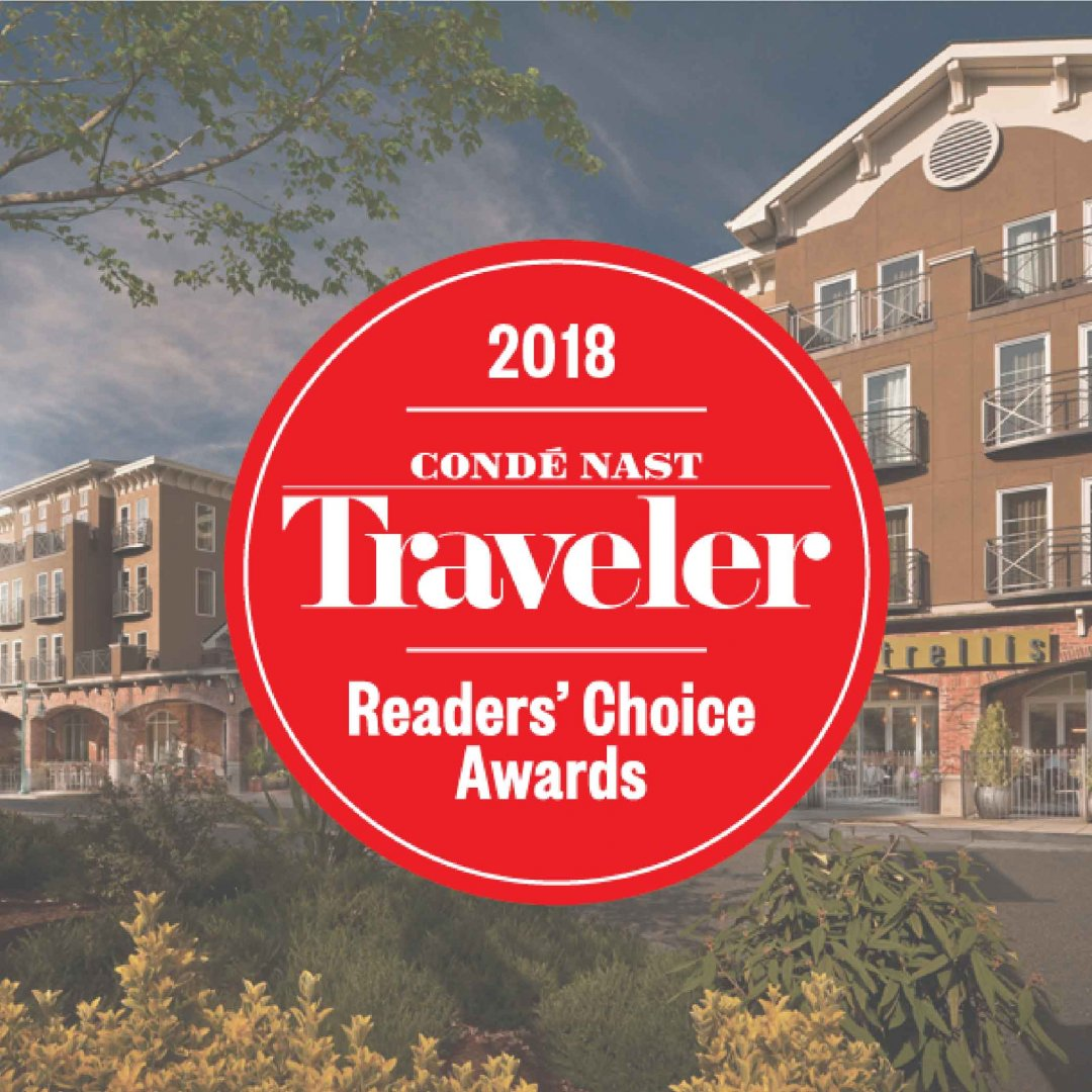 Conde Nast Traveler Reader Choice Awards Badge